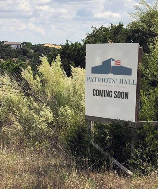 Patriots' Hall New Location